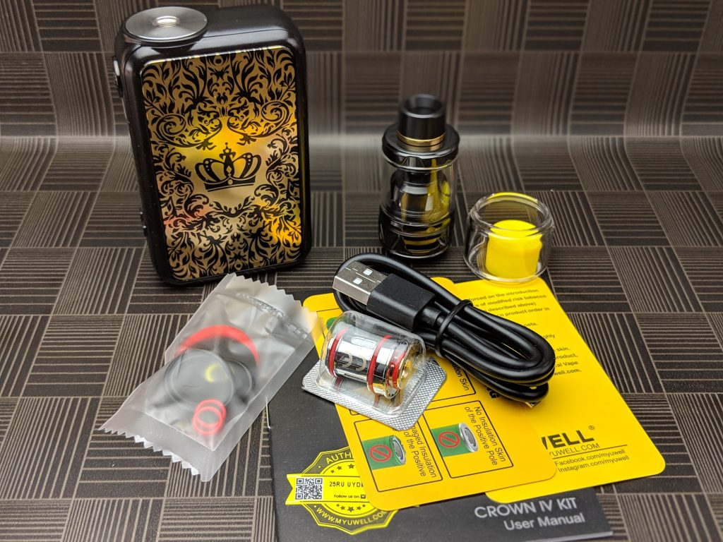 The Crown IV kit from UWell - 3